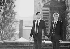Just married... (pictured: Sean Eldridge & Chris Hughes)