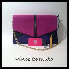 Spotted while shopping on Poshmark: Vince Camuto Shoulder/Clutch Bag! #poshmark #fashion #shopping #style #Vince Camuto #Handbags