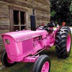 ✟♥  ✞  ♥✟ Ah, Pink Tractor ✟  ♥✞♥  ✟