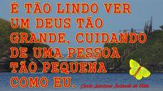FALANDO DE VIDA!!: Um Deus tão grande.