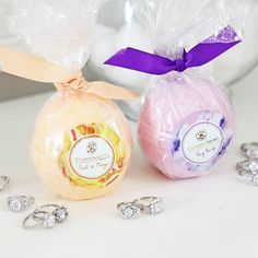 01f4256a8 Charmed aroma bath bombs! Surprise today :) so thoughtful!! #aromacandles