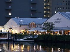 Sip on craft beer at the waterfront...