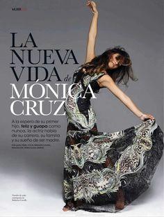 Bump Watch: Monica Cruz covers Elle magazine (PHOTOS)