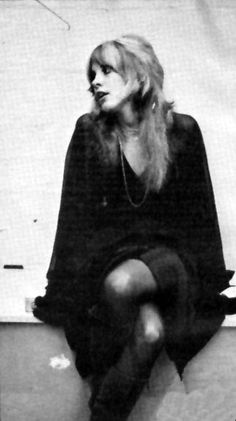 you know what stevie nicks's got that we don't? SHE'S GOT SWAG!