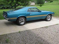 Original Paint: 1969 Shelby Mustang GT 350 4-Speed