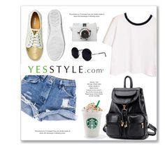 """""""YESSTYLE"""" by monmondefou ❤ liked on Polyvore"""