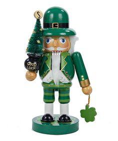 Another great find on #zulily! 'Good Luck' Wooden Irish Nutcracker #zulilyfinds