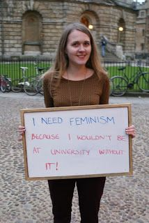 Women need FEMINISM in order to live their life!