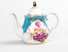 Wonderland Teapot Blue   T2 Tea