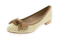 Sapatilha caramelo com crochê Vírgula Zero - Taquilla Calçados - Loja online de sapatos femininos