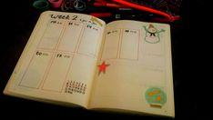 Die Bullet Journal Seiten für den Januar sind fertig. Hier für dich die Seiten als Inspiration. washi tapes,    brush pens, Aufleber, bunte Zettel, handlettering, Monatsübersicht, Wochenübersicht
