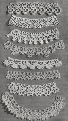 Hey, I found this really awesome Etsy listing at https://www.etsy.com/listing/151992545/1940-lace-edgings-vintage-crochet