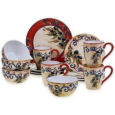 Certified International Umbria Dinnerware Collection