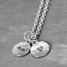 Tiny Alpha Phi Charm Necklace