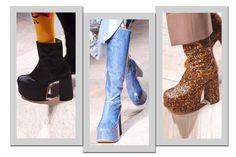 Salto plataforma é uma das tendências da moda inverno 2017 e vai bombar nos pés das mulheres fashionistas