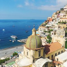 The view that never gets old ❤️😍 #Positano