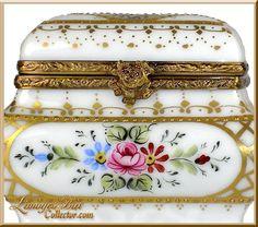 ** Truhlička - malovaný porcelán ♣ Limoges **