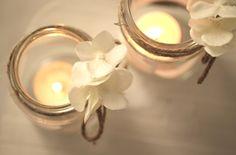 Windlichter für die Hochzeit gestalten - Bastelanleitung