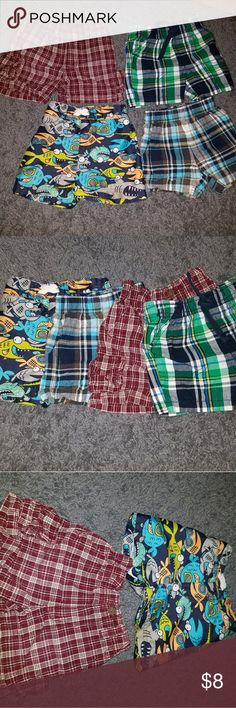 Baby short bundle!! 3 shorts and 1 swim trunk great used condition Carters Gap  Osh kosh Carter's Bottoms Shorts