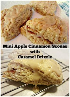 ... Caramel Drizzle and WINNERS! | Mini Apple, Apple Cinnamon and Scones