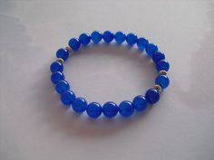 blue saphire bracelet by Shynnasplace on Etsy, $12.99