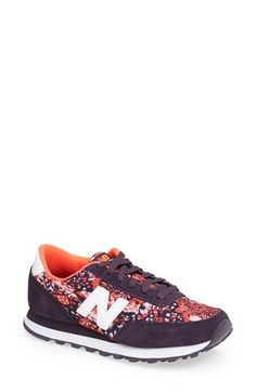 Free shipping and returns on New Balance 'Backpack 501' Sneaker (Women) at Nordstrom.com. An eye-catching print puts a fresh twist on the retro style of a street-smart sneaker accented with smooth suede.