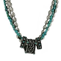 Montana Silversmiths Women's Multi Strand and Ring Necklace