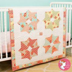 Poppy Quilt by It's Sew Emma.
