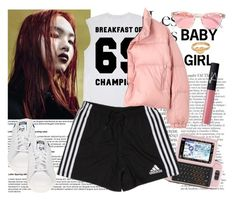 """""""90's b!tch"""" by mariaalovett ❤ liked on Polyvore"""