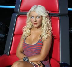 Christina Aguilera, GET THE LOOK - VOICE ELIMINATION SHOW LAST NIGHT