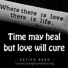 Time may heal you, you may forget your suffering with time. But it will pop up freshly when you see that person or equivalent event happening in life. But when you heal yourself with unconditional love it has unconditional forgiveness. Love will cure you and en case of event you will not resist or react but simply act, Love acts as compassion.... Love haeals.