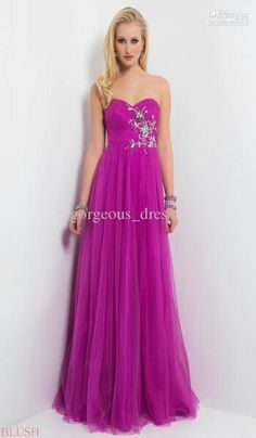 This is a long elegant dress is perfect for prom all eyes will be on you.