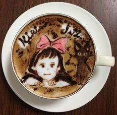 Latte Art by Japanese Artist Mattsun