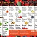 Some of my favorite Shakeology recipes are on these calendars :)