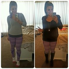 When workout tights double for Saturday pants  #lululemonforthewin