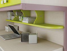 #repisas #color #design #calidad #ahorraespacio #escritorio #areadetrabajo