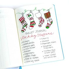 I like the stocking header, but would add our family members' Christmas list instead of stocking stuffer ideas.