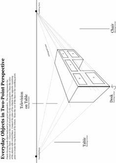 1 Point Perspective Worksheet - Bing Imágenes