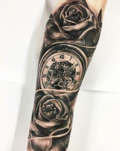 Tatuagem de Relogio