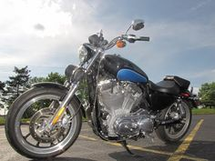 2012 Used Harley-Davidson SPORTSTER SUPERLOW 883 XL883L SUPERLOW 883 XL883L at Used Motorcycle Store Serving Chicago, Naperville, & Rockford, IL, IID 15185820