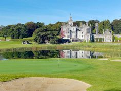 Adare Hotel and Golf Resort. Irish Castles and Manor Houses you can stay in. Public Golf Courses, Best Golf Courses, Ireland Vacation, Ireland Travel, Castle Hotels In Ireland, Limerick Ireland, Adare Ireland, Adare Manor, Coeur D Alene Resort