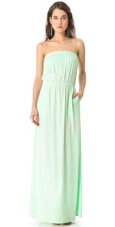 voila mint dress from Spendid for your bridesmaid, or for you