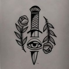 tattoo design available - traditional tattoo drawings Kritzelei Tattoo, Knife Tattoo, Wrist Tattoos, Mini Tattoos, Finger Tattoos, Body Art Tattoos, Small Tattoos, Sleeve Tattoos, Tattoo Neck