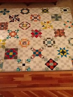 Snuggles Quilt Co Bom Country House Sampler Country