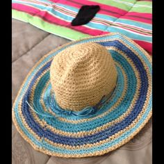 "Spotted while shopping on Poshmark: ""Straw Sun Hat x2""! #poshmark #fashion #shopping #style #unknown #Accessories"