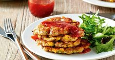 Solve your weeknight dinner (or lunchbox!) dilemmas with these delicious tuna and corn fritters.