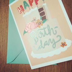 Handlettering - Frau Annika — Illustration