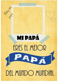 imprimibles, dia del padre, printables, gratis, descargar - #pascua #ideas