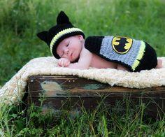 Tiny Crochet Superhero Outfits for Infants