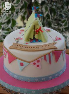 Camping Birthday Cakes